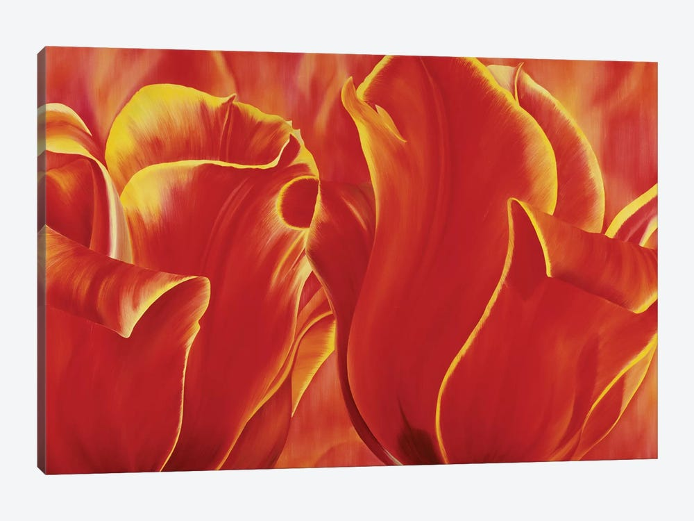 Party Tulip II by Yvonne Poelstra-Holzhaus 1-piece Canvas Art Print