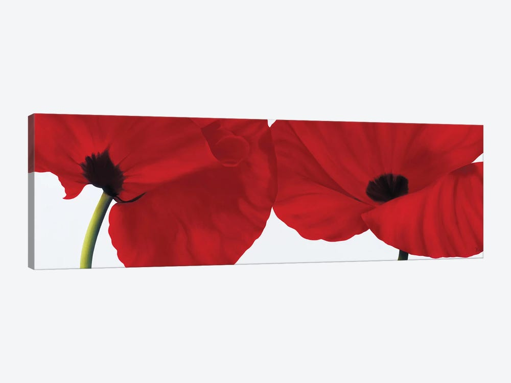Red II (Poppies) by Yvonne Poelstra-Holzhaus 1-piece Art Print