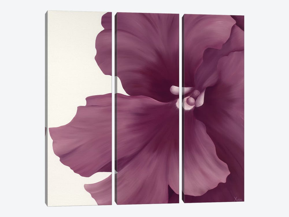 Violet Flower I 3-piece Art Print
