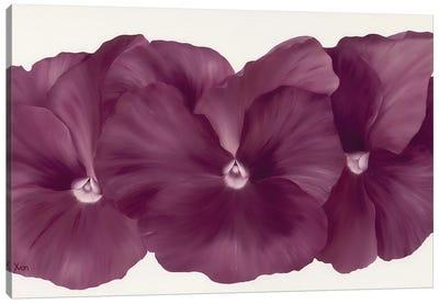 Violet Flower III Canvas Art Print
