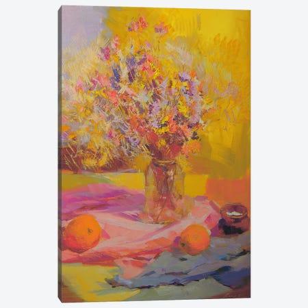 Flowers like Lace Canvas Print #YPR101} by Yuri Pysar Canvas Print