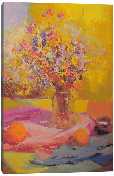 Flowers like Lace Canvas Art Print