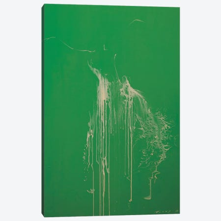 Harmony of Green Canvas Print #YPR105} by Yuri Pysar Canvas Art