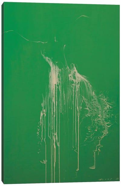 Harmony of Green Canvas Art Print