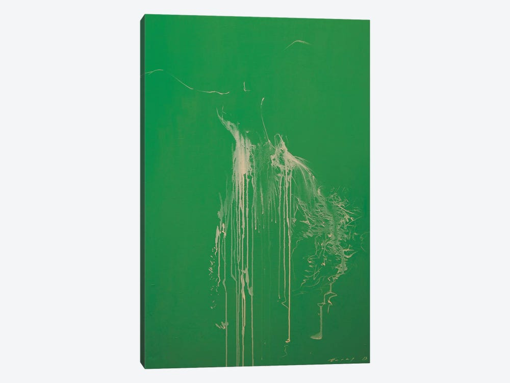 Harmony of Green by Yuri Pysar 1-piece Canvas Art Print