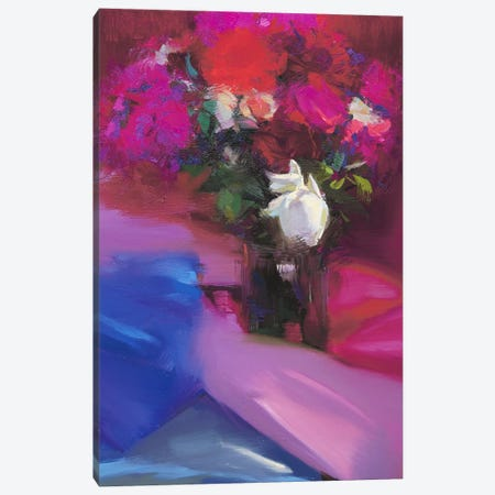Roses for Red #2 Canvas Print #YPR110} by Yuri Pysar Canvas Art