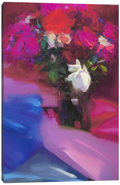 Roses for Red #2 Canvas Art Print