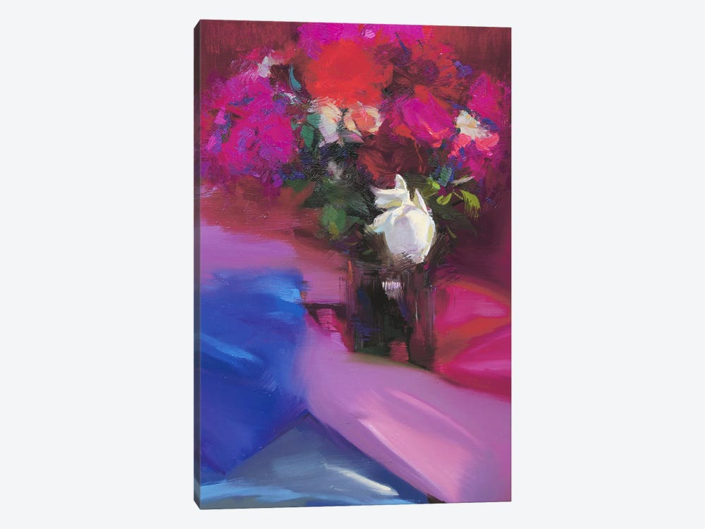 Roses for Red #2 by Yuri Pysar 1-piece Art Print
