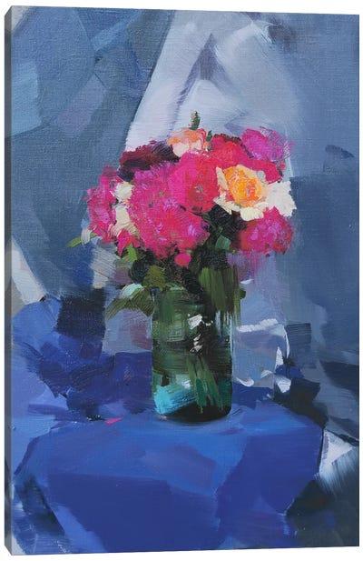 Light Blues Canvas Print #YPR112