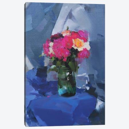Light Blues Canvas Print #YPR112} by Yuri Pysar Canvas Wall Art