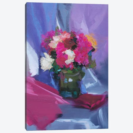 Roses' Mood Canvas Print #YPR114} by Yuri Pysar Canvas Art Print