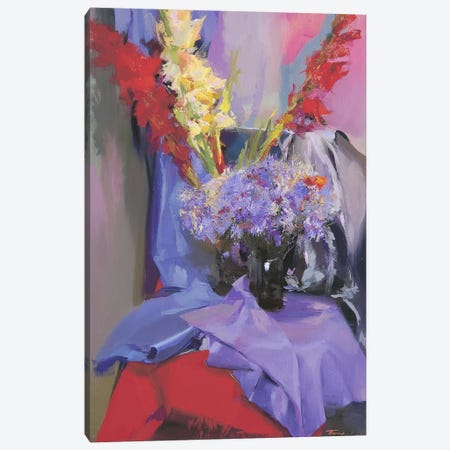 July's Flowers Canvas Print #YPR116} by Yuri Pysar Canvas Print