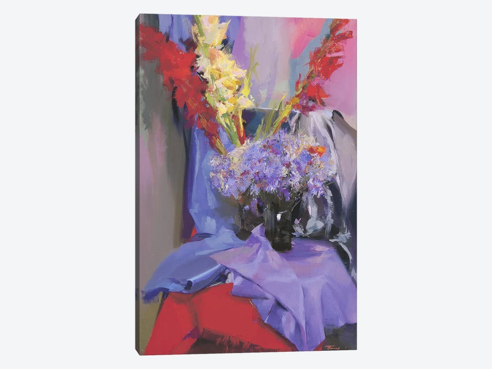 July's Flowers by Yuri Pysar 1-piece Art Print