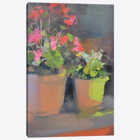 Candle Light Canvas Print #YPR128} by Yuri Pysar Art Print