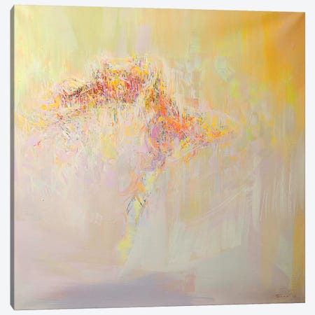 Fling Symphony Canvas Print #YPR131} by Yuri Pysar Canvas Artwork