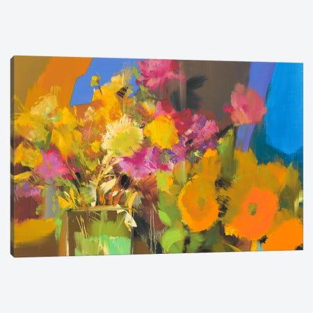 Flory Story Canvas Print #YPR135} by Yuri Pysar Art Print