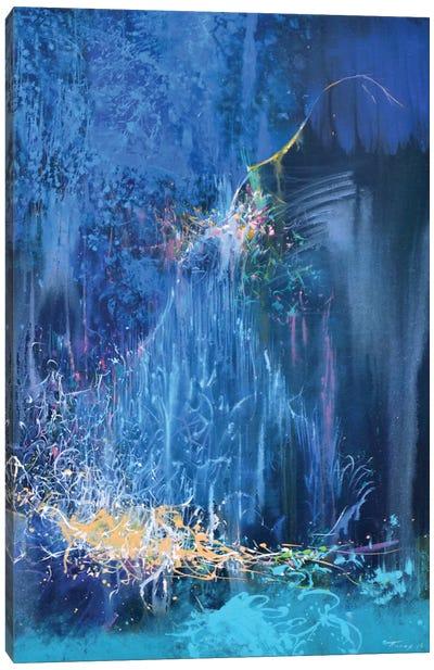 Blue Night Canvas Print #YPR154