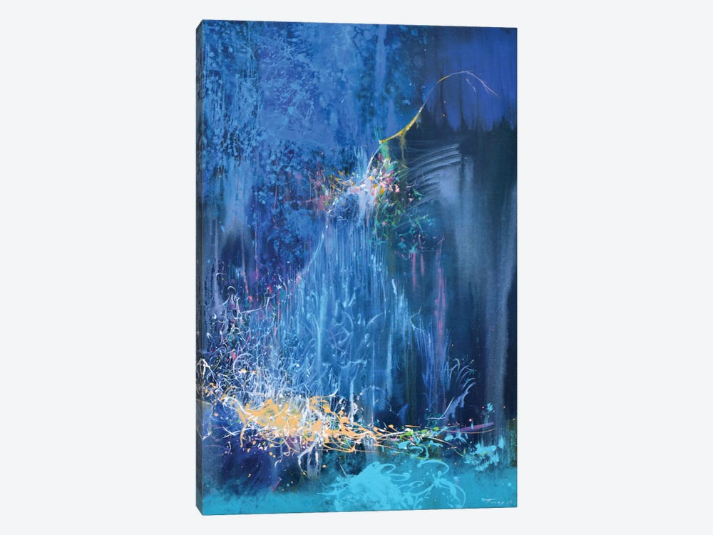 Blue Night by Yuri Pysar 1-piece Canvas Art Print