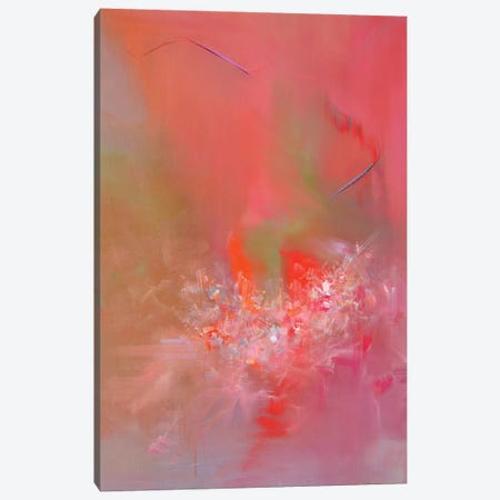 Soft Red Canvas Print #YPR156} by Yuri Pysar Canvas Print