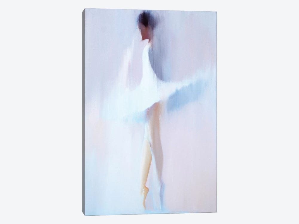 Morning White II 1-piece Canvas Art