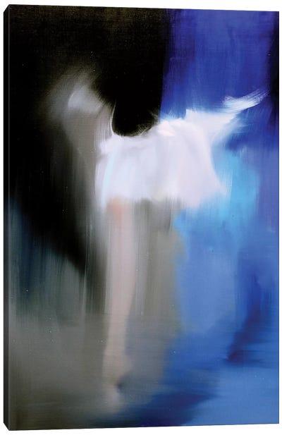 Silver in Blue Canvas Print #YPR158