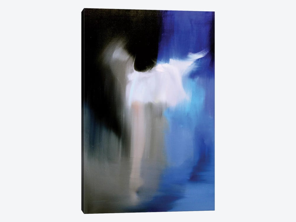 Silver in Blue by Yuri Pysar 1-piece Canvas Print
