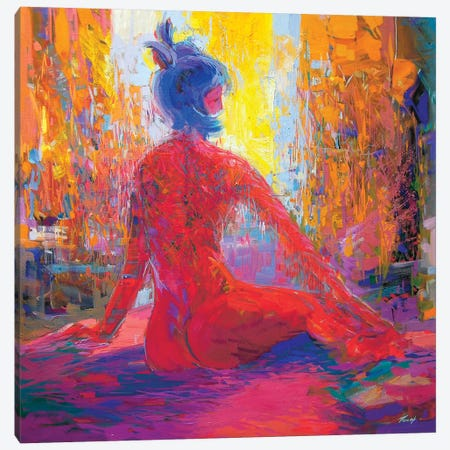 Waiting Canvas Print #YPR15} by Yuri Pysar Art Print