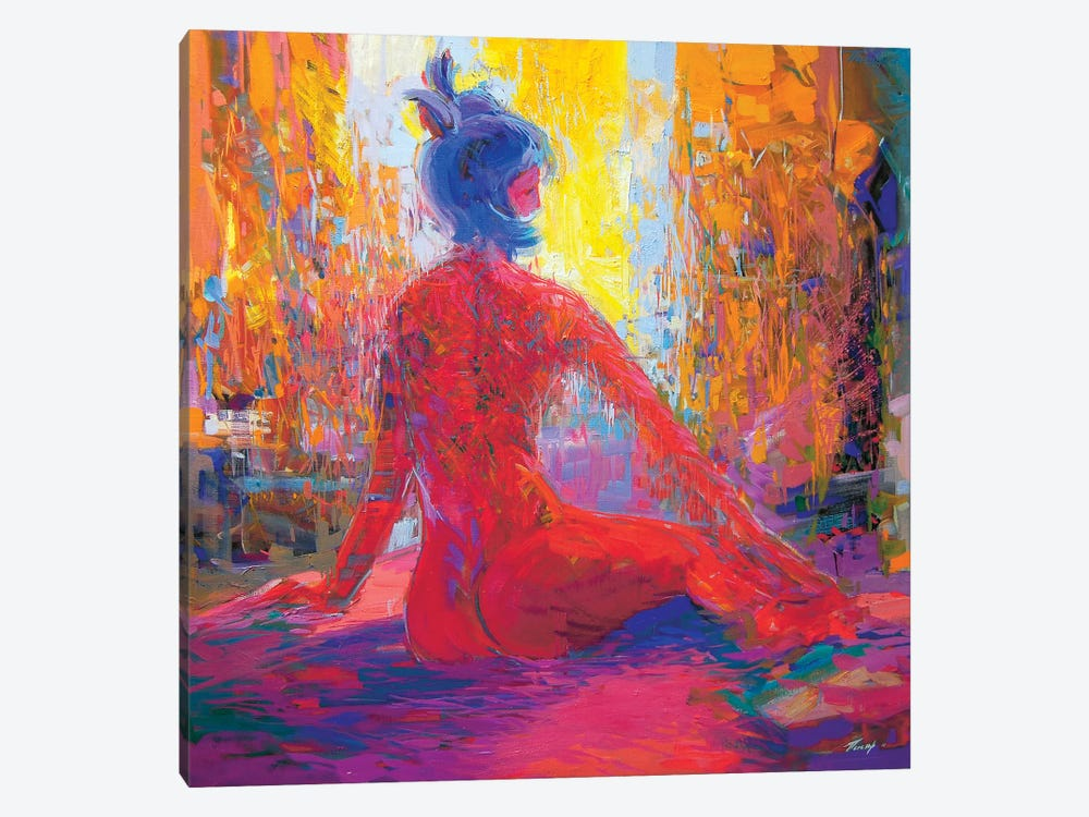 Waiting 1-piece Canvas Artwork