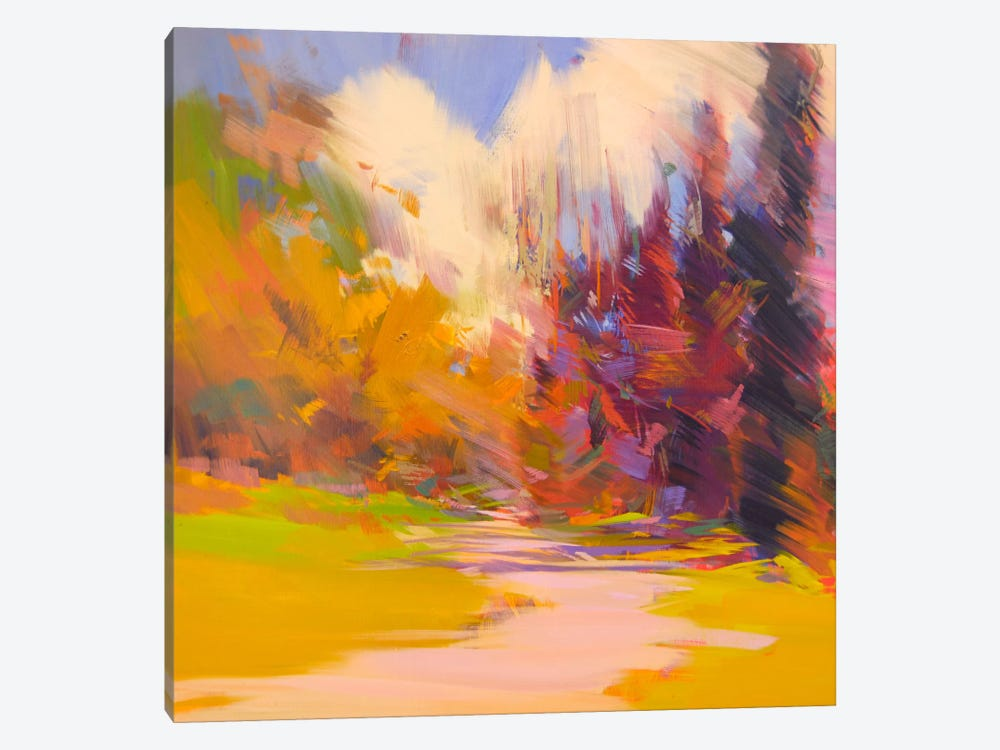 Light Way by Yuri Pysar 1-piece Canvas Art Print