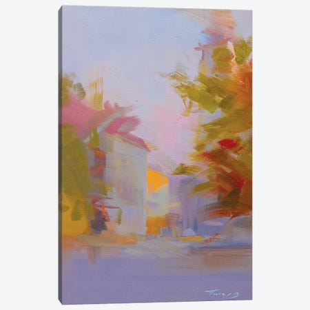 Sunset in the City Canvas Print #YPR164} by Yuri Pysar Canvas Artwork
