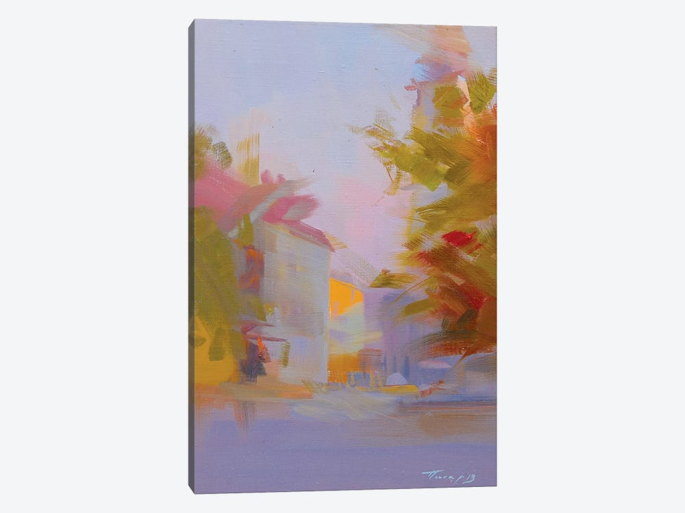 Sunset in the City by Yuri Pysar 1-piece Canvas Artwork