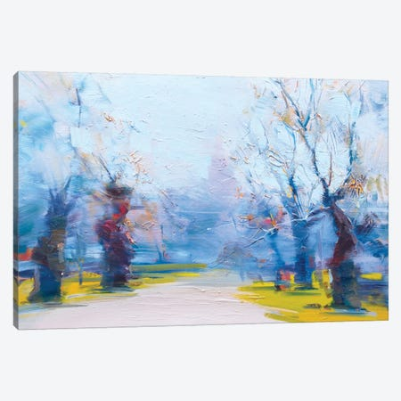The Invitation for a Walk Canvas Print #YPR165} by Yuri Pysar Canvas Wall Art