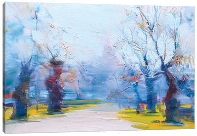 The Invitation for a Walk Canvas Art Print