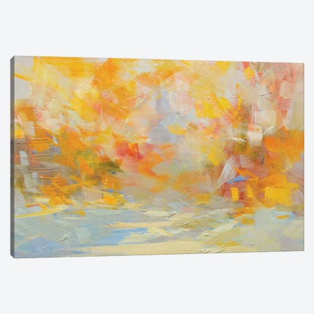 The Warm Snow Canvas Print #YPR166} by Yuri Pysar Canvas Artwork