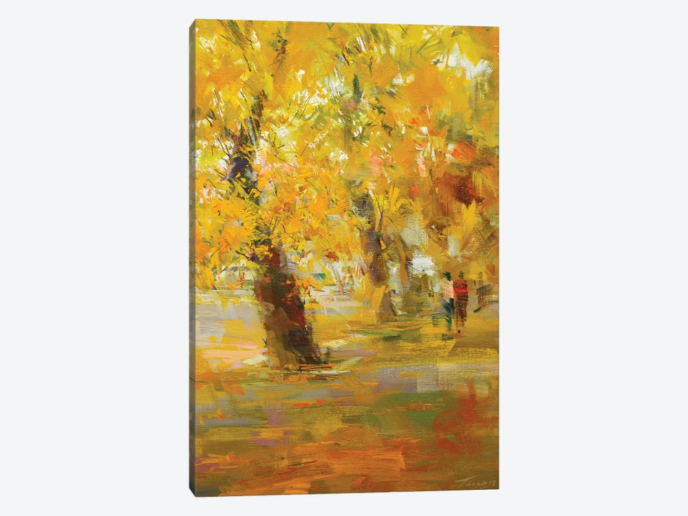 Autumn Rain by Yuri Pysar 1-piece Canvas Art
