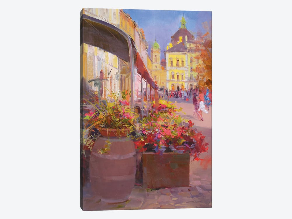 The Market Square by Yuri Pysar 1-piece Canvas Print