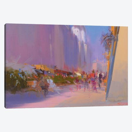 The Street of Time Canvas Print #YPR170} by Yuri Pysar Canvas Art