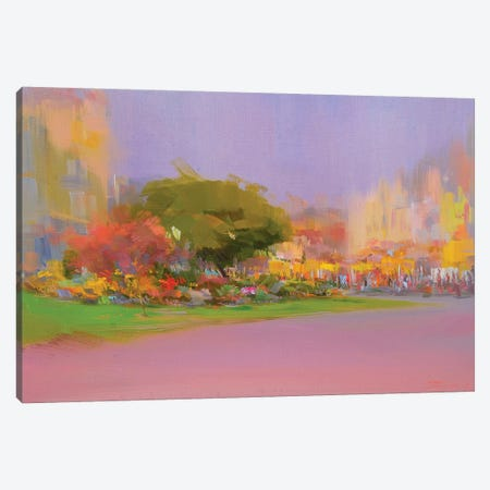 Sunny October Canvas Print #YPR171} by Yuri Pysar Canvas Wall Art