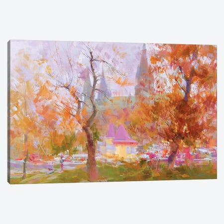 Rain II Canvas Print #YPR172} by Yuri Pysar Canvas Wall Art