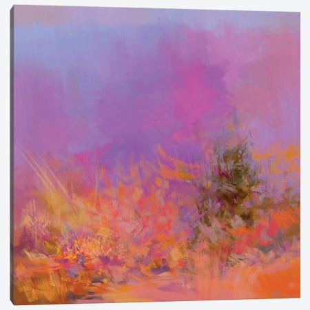 Autumn Pink Canvas Print #YPR174} by Yuri Pysar Canvas Art Print