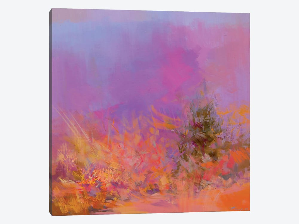 Autumn Pink by Yuri Pysar 1-piece Art Print