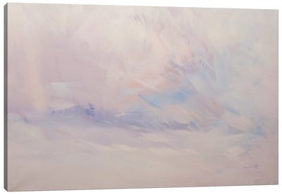 The White Blizzard Canvas Print #YPR177