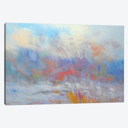 The White Blizzard #3 Canvas Print #YPR178} by Yuri Pysar Canvas Art