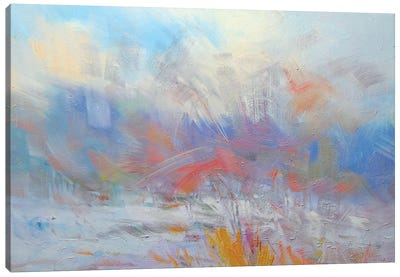 The White Blizzard #3 Canvas Print #YPR178