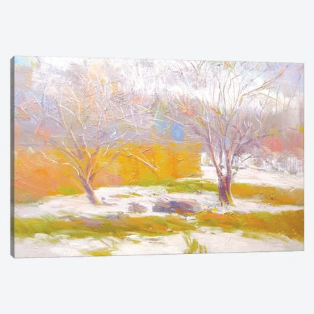 The Naked Day Canvas Print #YPR179} by Yuri Pysar Canvas Wall Art