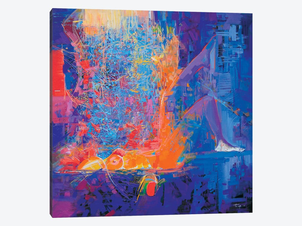 Temptation by Yuri Pysar 1-piece Canvas Wall Art
