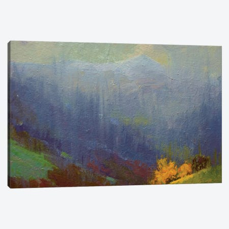 Rainy Mountains Canvas Print #YPR183} by Yuri Pysar Canvas Art Print