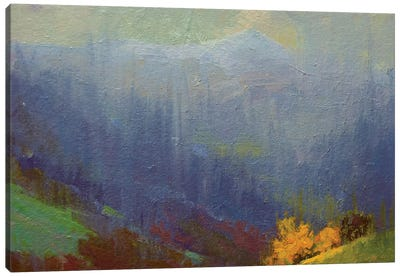 Rainy Mountains Canvas Print #YPR183