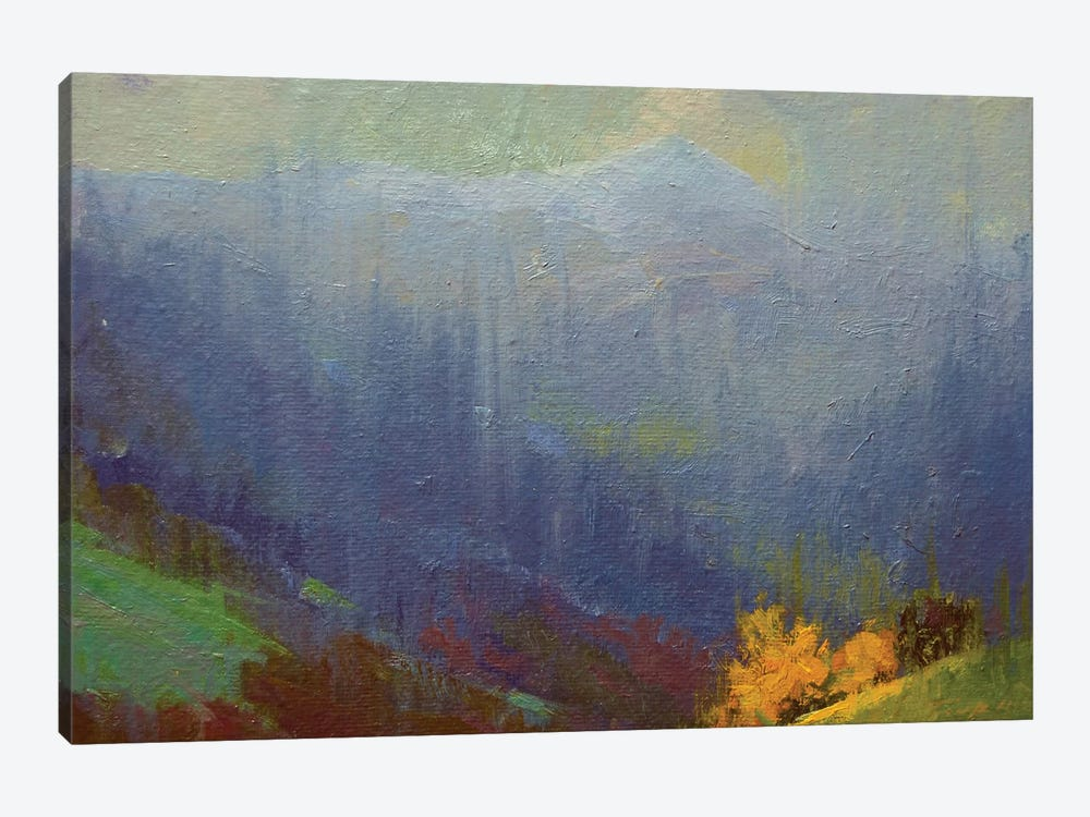 Rainy Mountains by Yuri Pysar 1-piece Art Print