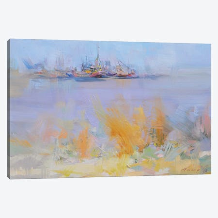 Sea Wolves Canvas Print #YPR185} by Yuri Pysar Canvas Wall Art